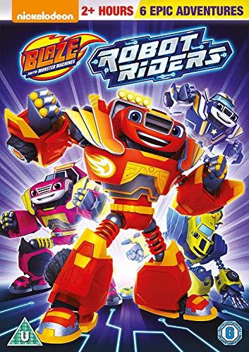 Blaze And The Monster Machines: Robot Riders [Edizione: Regno Unito] [Italia] [DVD]
