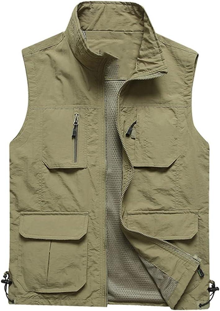 Men's Vests Summer Sleeveless Vest Spring Autumn Casual Travels