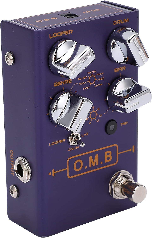 Pedal de efectos de guitarra, pedales Donner Pedal de efectos Multiefectos para principiantes para guitarra y bajo