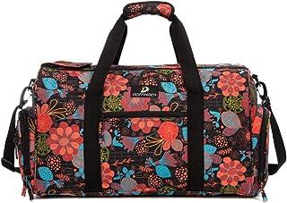 DOFFINGER Large Travel Duffel Bag Weekender Bag Carry on Overnight Bag Travel Tote Luggage Bag for Men and Women
