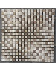 Mozaïek mat 30x30 cm natuursteen tegels Emperador Light Crema Marfil Beige M521