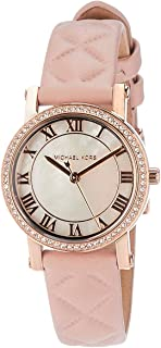 Women's Petite Norie Watch, three hand quartz movement with mother of pearl dial