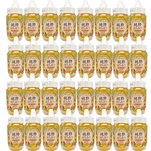 純粋はちみつ (380gx24本) 業務用 はちみつ 蜂蜜 ハチミツ 100%純粋 非加熱 ひまわり アカシア