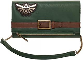 Bioworld The Legend of Zelda Nintendo Zelda Foldover Clutch