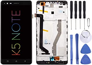 SHUHAN LCD Screen Phone Repair Part LCD Screen and Digitizer Full Assembly with Frame for Lenovo K5 Note Mobile Phone Acce...