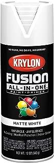 Krylon K02764007 Fusion All-in-One Spray Paint, White