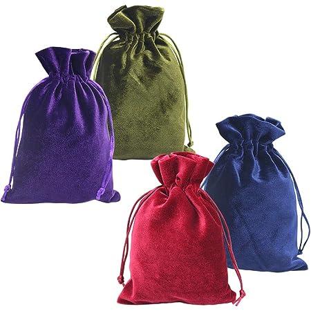 Details about  /3 MAROON Anti Tarnish Cloth Jewelry Storage Drawstring Bag Pouch 5 1//2 x 3 7//8