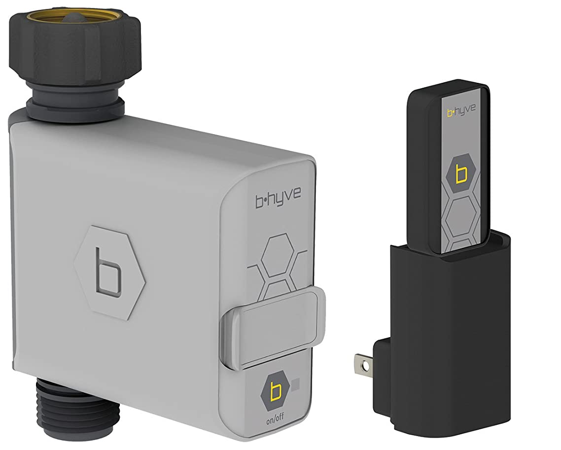 Orbit 21004 B-hyve Smart Hose Faucet Timer with Wi-Fi Hub, Compatible with Alexa