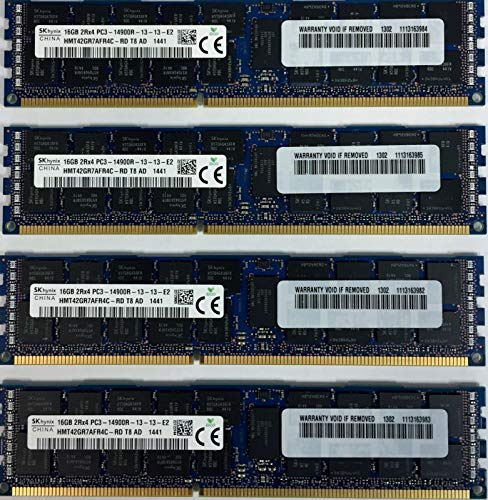 64GB 4X 16GB Hynix Original 1866MHz DDR3 Memory for Late 2013 Apple Mac Pro