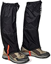 IDAND Leg Gaiters for Hiking Waterproof Snow Boot Gaiters Anti-Tear Oxford Fabric Snow Shoes for Outdoor Hiking Walking Hunting Climbing Mountain