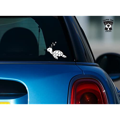 Sea Turtle Window Decals for Cars: Amazon.com