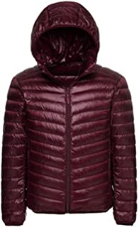 Men Hooded White Duck Down Jacket Line Portable Package Style Winter Coat Down Jacket White Duck