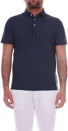 Heritage Homme 0861P51885 Bleu Coton Polo