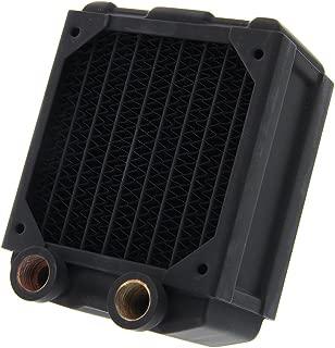 Black Ice Nemesis 80mm Dual-Core Xtreme Profile Radiator - Black Carbon