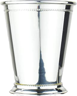 Prince of Scots Copper Mint Julep Cup with Pure Silver Plate ~ 12 Ounce ~ (Gift Boxed)
