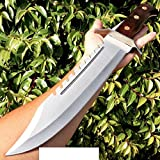 Fixed Blade 16.5' FULL TANG RAMBO BOWIE MACHETE TACTICAL SURVIVAL HUNTING KNIFE