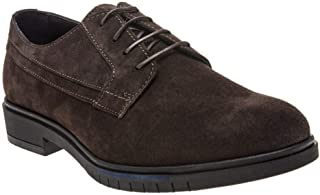 Flexible Dressy Suede Shoes Brown