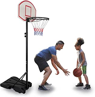 9rit/_shop Suitable for Home Office and Dorm with Mini Basketball Hoop System Over The Door or Wall in or Outdoor Office Basketball Goal