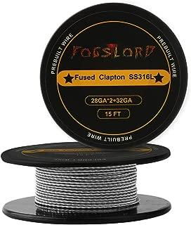 ss flat clapton wire geekvape
