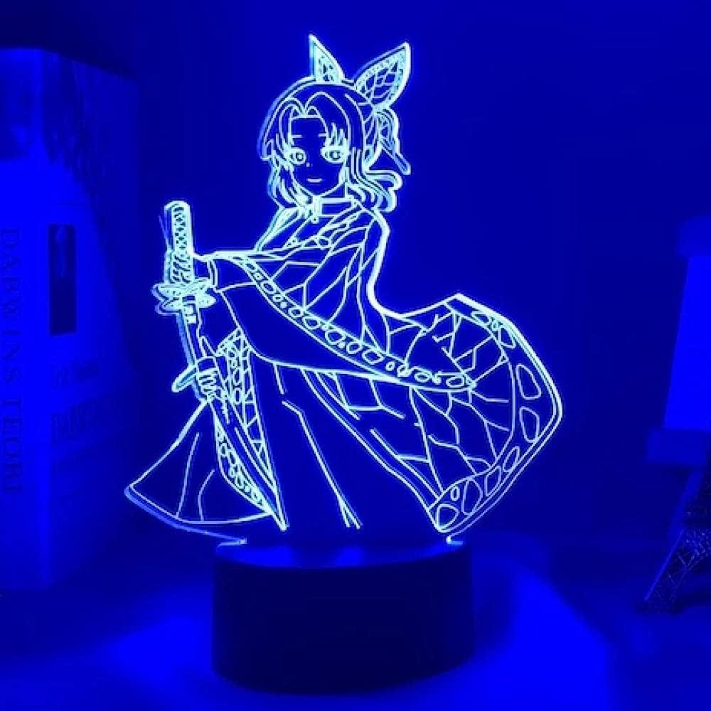 Devil Slayer Kocho Kanae Japanese quality assurance Anime Illusi Sign Light New product! New type 3D LED