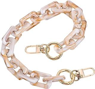 VALICLUD Resin Purse Bag Handles Shoulder Strap Replacemen Handbag Decoration Chain Bag Accessories Charms for DIY Crafts ...