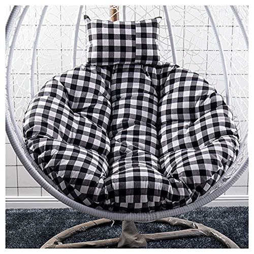 AFKK Slow Wald Swing Chair Kissen, Wiege Hängende Stuhl Back Pads Dicker Eierstuhl Kissen Recliner Schaukelstuhl Dekorative Kissen,C,120 * 120cm