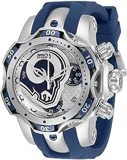 Invicta NFL Los Angeles Rams Chronograph Quartz Ladies Watch 33104