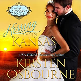 Kissing in Kansas     At the Altar, Book 5              By:                                                                                                                                 Kirsten Osbourne                               Narrated by:                                                                                                                                 Tiffany Williams                      Length: 3 hrs and 30 mins     6 ratings     Overall 4.7
