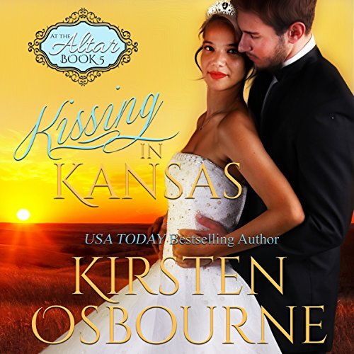 Kissing in Kansas audiobook cover art