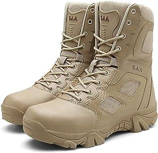 Bottes tactiques haut de gamme résistantes à l'usure, chaussures de service spécial, bottes militaires de combat en plein ...