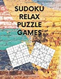SUDOKU RELAX PUZZLE GAMES: 2020 Large Format Printing And Big Book Of Funster Brain Game - A Classic Variety Math Crossword Puzzles With 4 Levels From ... Fun For A Gammer Activities Or Hobbies Lovers