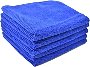 [TARO WORKS] 洗車タオル マイクロファイバー 万能クロス 洗車ふきとり 5枚セット (30cmx30cm)