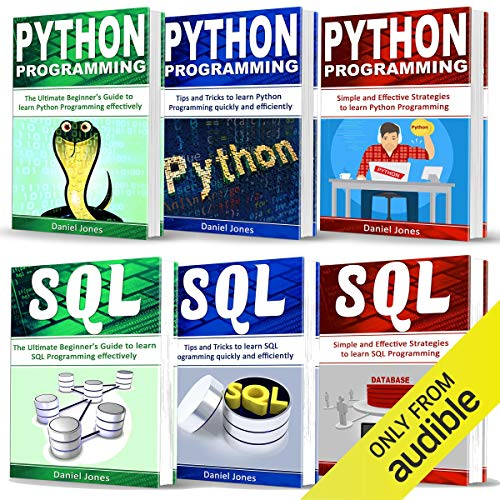 Page de couverture de Programming for Beginners: 6 Books in 1