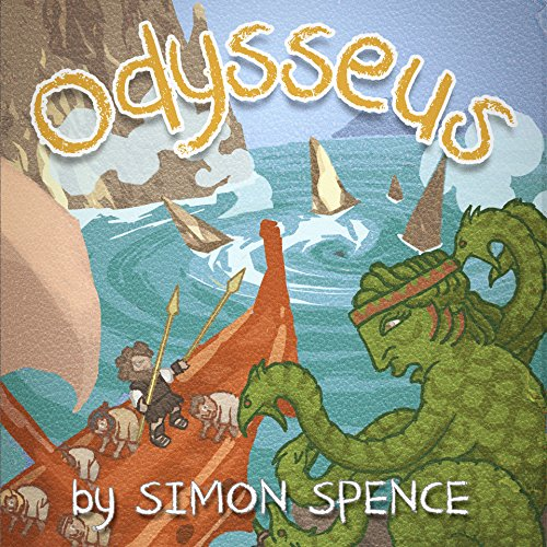 Odysseus: Early Myths audiobook cover art