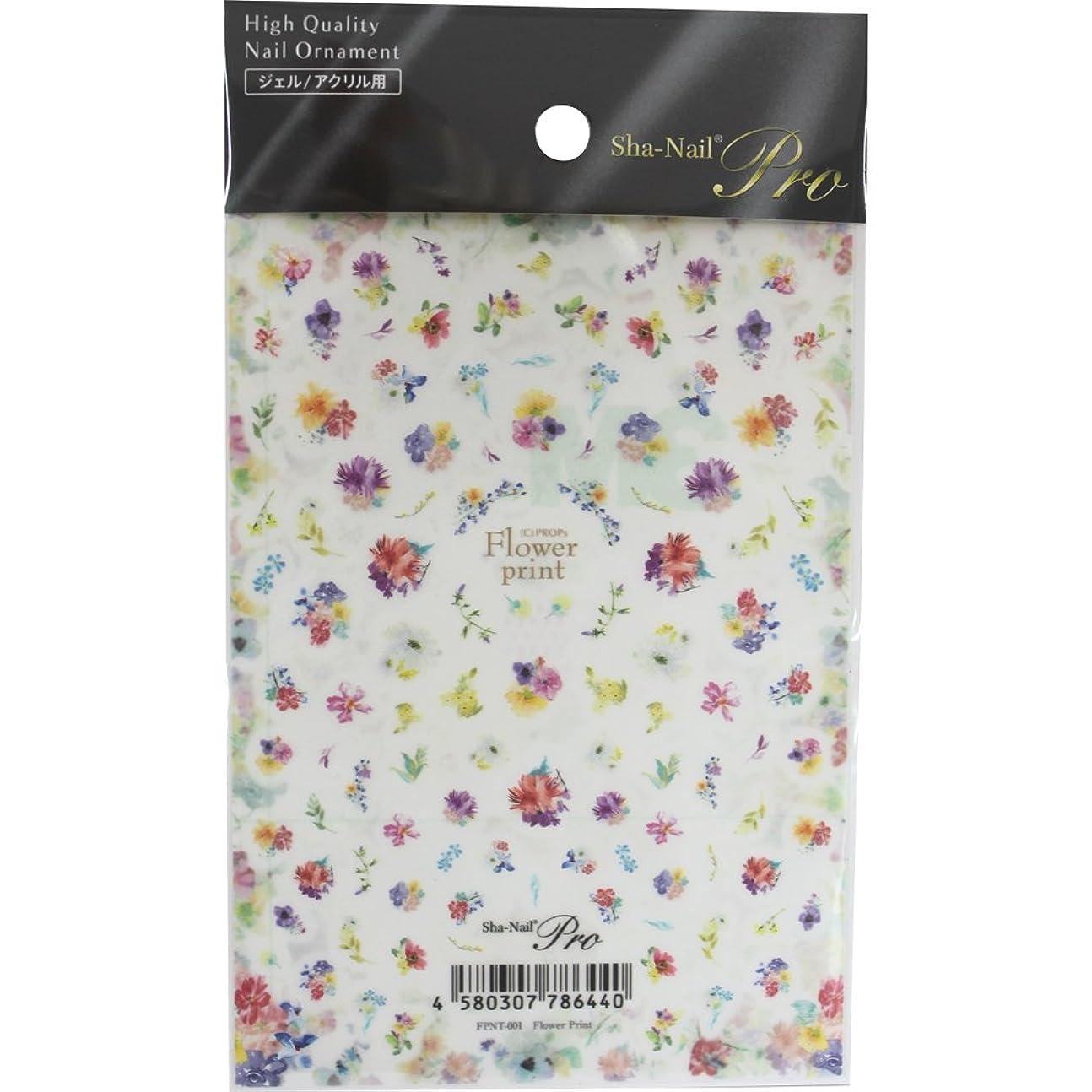 存在千キャビンSha-Nail Pro ネイルシール Flower Print フラワープリント FPNT-001