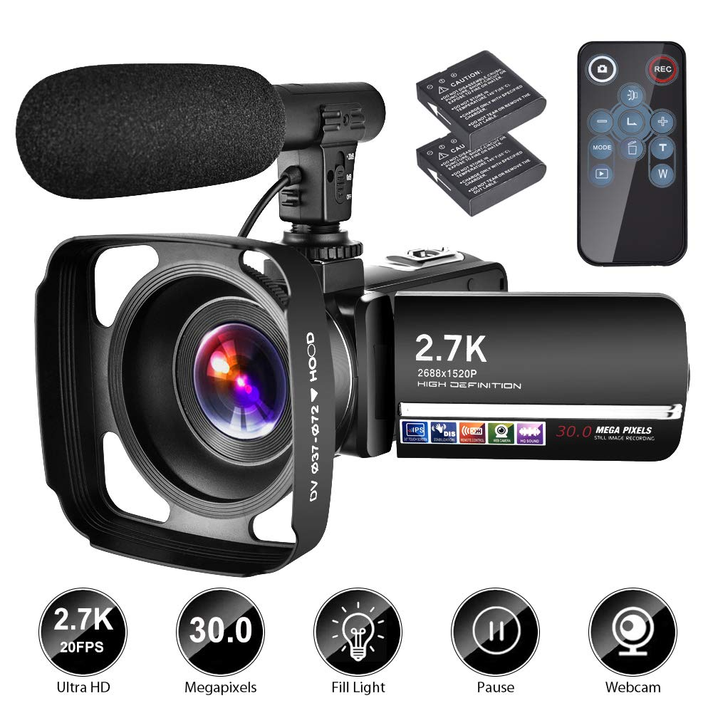 Camcorder Microphone YouTube Recorder Vlogging