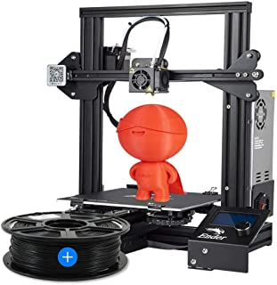 Creality Ender 3 3D Printer 2020 Special Edition + Free 1Kg PLA Black Filament - 1.75mm (Combo Set)