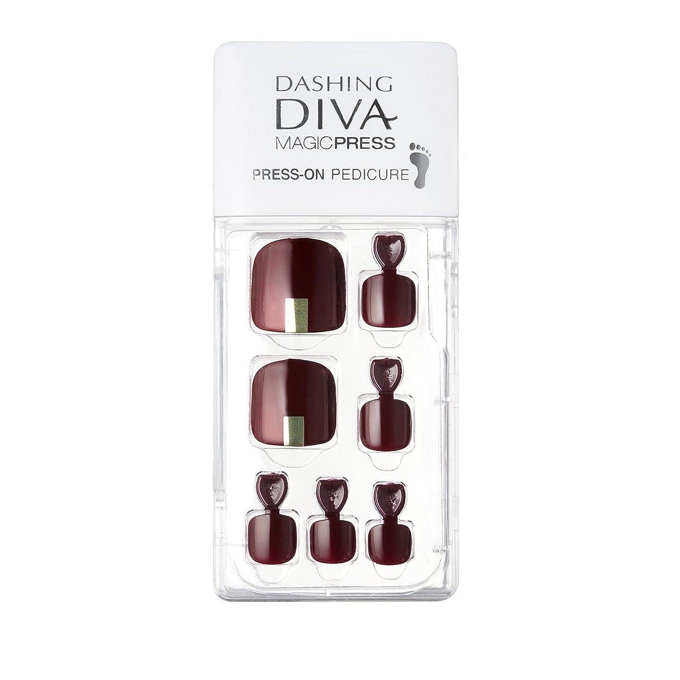 広告主説得力のある秋ダッシングディバ マジックプレス DASHING DIVA MagicPress MDR106P-DURY+ オリジナルジェル ネイルチップ
