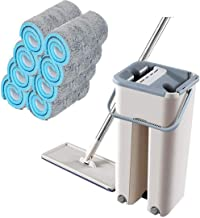 Mop Automatic Spin Mop Set Ultrafine Fiber Cleaning Mop 360° Rotation Self Wet and Dry Cleaning Mop Home Floor Cleaning Tools