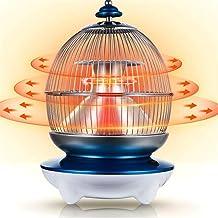 MAMU Calentador de Espacios para Uso en Interiores, cerámica Calentador de Espacio, 100W Calentador eléctrico portátil con termostato de vuelco y protección contra sobrecalentamiento