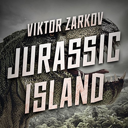 Jurassic Island audiobook cover art