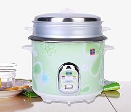 JSMY Cuiseur à Riz d'isolation Domestique Multifonction,Cuiseur à Riz Automatique de Cuisine Casserole antiadhésive en All...