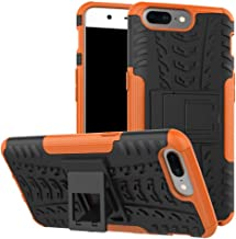 Oneplus 5 Case, NOKEA Dual-Layer [Soft TPU Interior] [Durable PC Exterior] Case For Oneplus 5 Case (2017) (Orange)