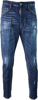 DSQUARED2 80's Jean S71LB0612 S30342 470 Jeans Blu Dsquared D2 Uomo