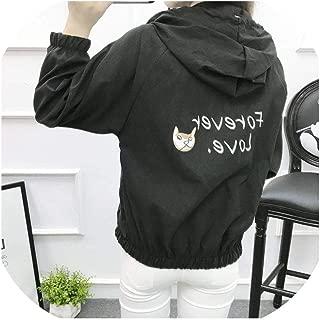 Jackets Women 2019 Bomber Jacket Hooded Basic Casual Thin Windbreaker Female Outwear Coat