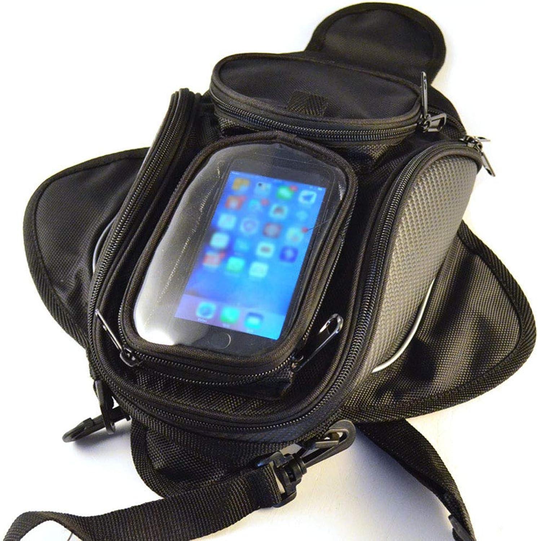 Motorcycle Tank Bag Motocross Rider Racing Hard Case Waterproof Large Capacity MultiFunction Buckle Fuel Outdoor Travel Shoulder