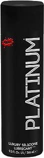 Wet Platinum Premium Lubricant, Silicone Based, 8.9 oz - 2pc