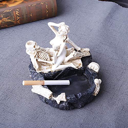 Wanjun Divertido Cenicero Erótico Sexy, Divertido Regalo para Hombre, Fabricado En Resina Natural,13x12x11cm,B