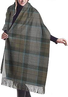 bufanda Outlander Mackenzie Tartan Womens Winter Scarf Cashmere Feel Pashmina Shawl Wraps Soft Warm Blanket Scarves