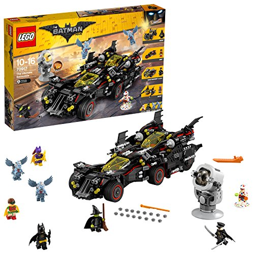LEGO Movie Batman Ultimate Batmobile, Multicolore, 70917